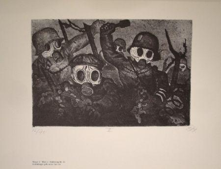 Illustrated Book Dix - Der Krieg