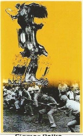 Screenprint Polke - Der Teifel von Berlin