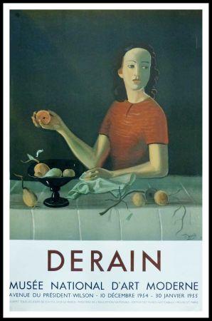Poster Derain - DERAIN - EXPOSITION MUSÉE NATIONALE D'ART MORDERNE