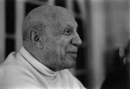 Photography Clergue - DERNIER PORTRAIT DE P. PICASSO