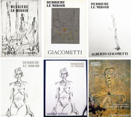 Illustrated Book Giacometti - DERRIÈRE LE MIROIR. COLLECTION COMPLÈTE DES NUMÉROS CONSACRÉS À A. GIACOMETTI (1951-1979)