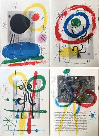 Illustrated Book Miró - DERRIÈRE LE MIROIR N°151-152. MIRO. CARTONS. Mai 1965.