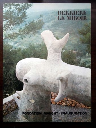 Illustrated Book Miró - DERRIÈRE LE MIROIR N°155 ''LA FONDATION MAEGHT''