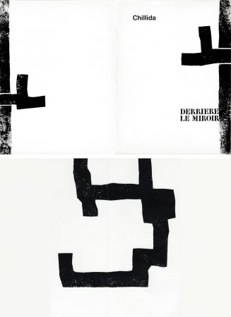 Illustrated Book Chillida - DERRIÈRE LE MIROIR N°183. CHILLIDA. Février 1970.
