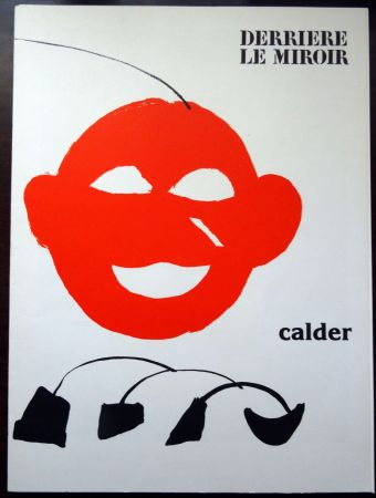 Illustrated Book Calder - DERRIÈRE LE MIROIR N°221