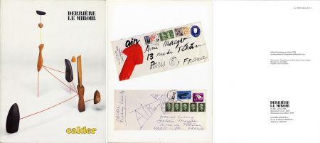 Illustrated Book Calder - DERRIÈRE LE MIROIR N°248: 30 mobiles, stabiles et machines motorisées (1981).