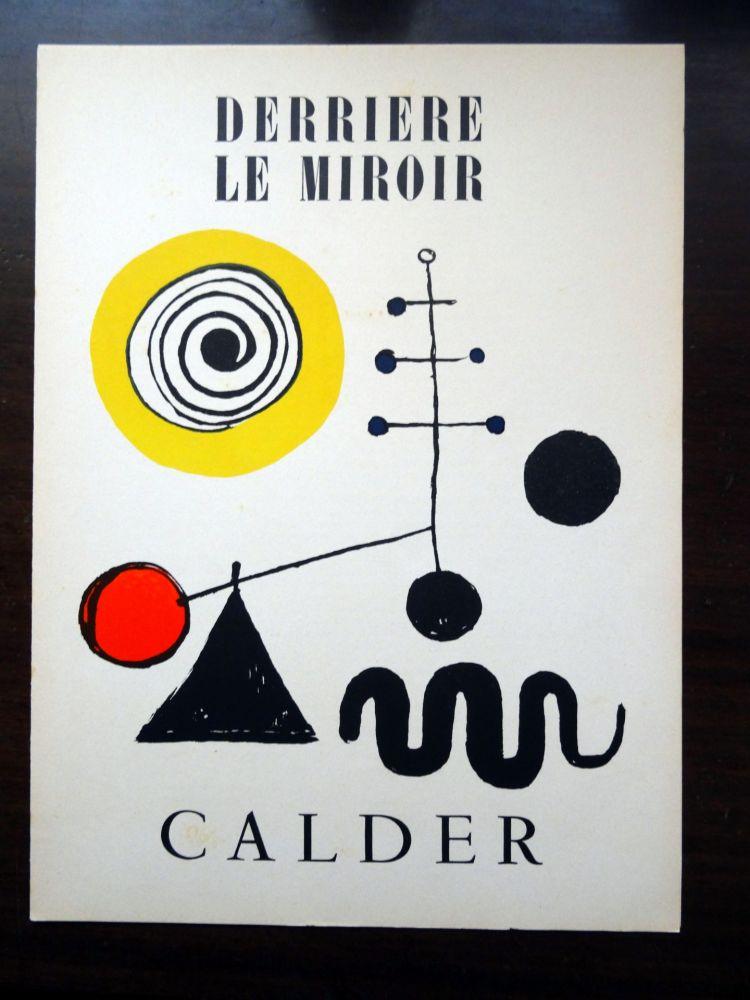 Illustrated Book Calder - DERRIÈRE LE MIROIR N°31