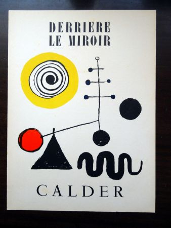 Illustrated Book Calder - DERRIÈRE LE MIROIR N°31
