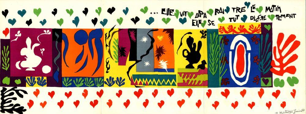 Illustrated Book Matisse - DERRIÈRE LE MIROIR N°36-37-38