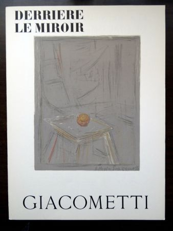 Illustrated Book Giacometti - DERRIÈRE LE MIROIR N°65