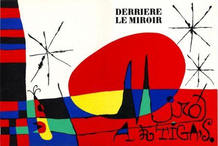 Lithograph Miró - Derrière Le Miroir N°87-88-89. Miro Artigas. Juin-Juillet-Août 1956.