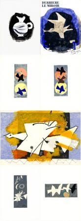 Illustrated Book Braque - DERRIÈRE LE MIROIR N° 115. BRAQUE. Juin-Juillet 1959.