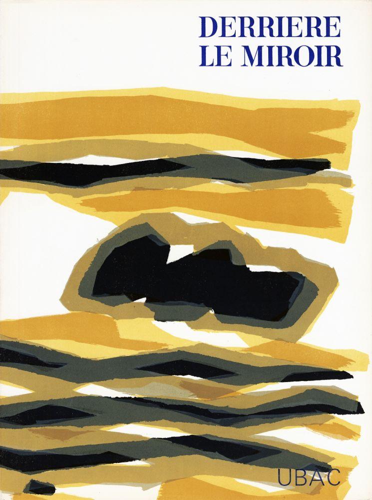 Illustrated Book Ubac - DERRIÈRE LE MIROIR n° 142 . GOUACHES ET ARDOISES TAILLÉES. Mars 1964. DE LUXE SIGNÉ