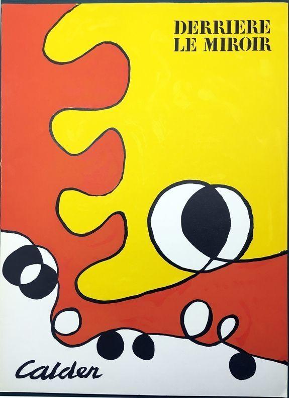 Illustrated Book Calder - DERRIÈRE LE MIROIR N° 173. 6 LITHOGRAPHIES ORIGINALES EN COULEURS (1968).