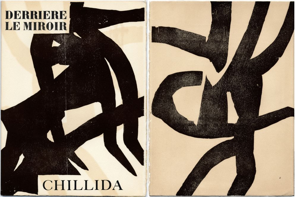 Illustrated Book Chillida - DERRIÈRE LE MIROIR N °90-91. CHILLIDA. Oct.-Novembre 1956.