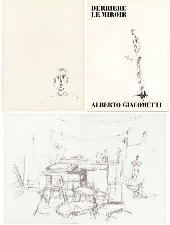 Illustrated Book Giacometti - DERRIÈRE LE MIROIR N° 98. L' ATELIER D' ALBERTO GIACOMETTI (Jean Genet). Juin 1957.