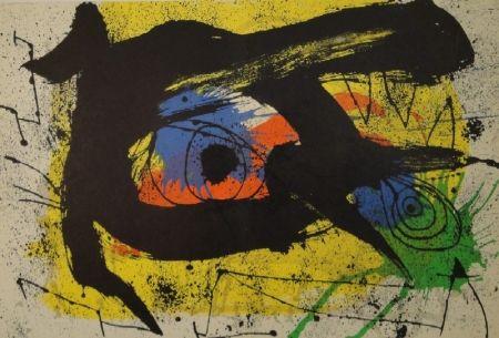 Illustrated Book Miró - DERRIÈRE LE MIROIR, No 203.