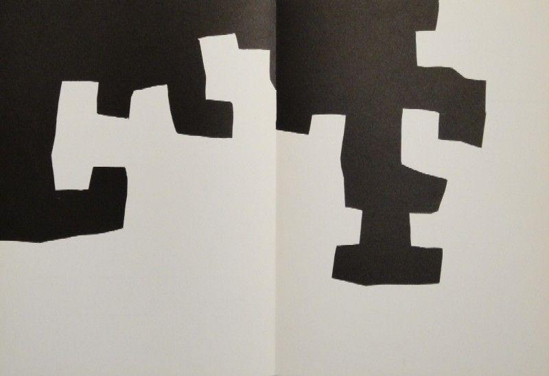 Lithograph Chillida - DERRIÈRE LE MIROIR, No 204. Chillida.