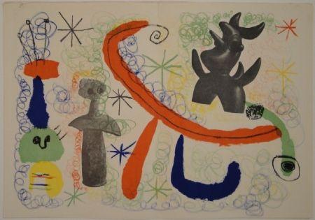Illustrated Book Miró - DERRIÈRE LE MIROIR, Nos 29-30