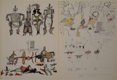 Illustrated Book Steinberg - DERRIÈRE LE MIROIR, Nos 53-54