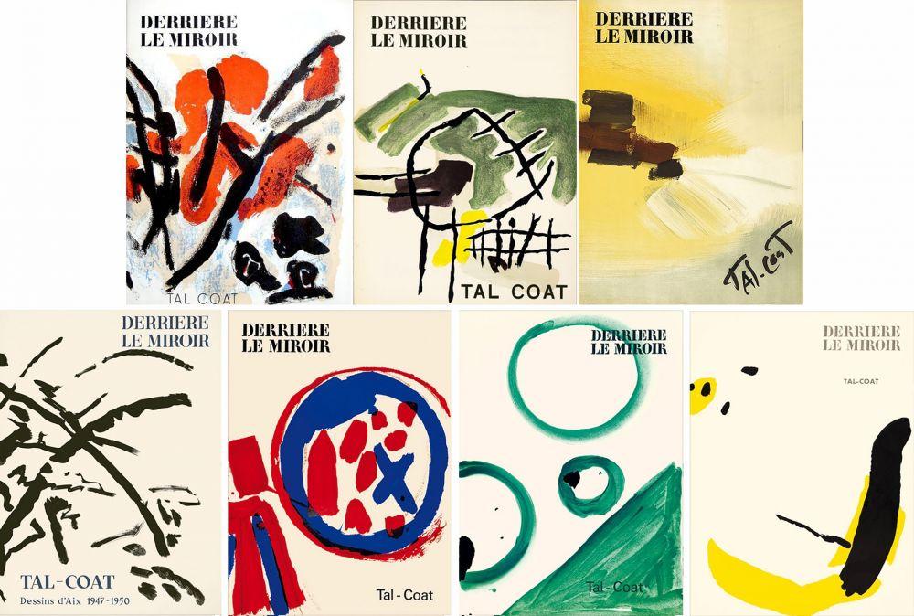 Illustrated Book Tal Coat - DERRIÈRE LE MIROIR. TAL COAT. Collection complète des 7 volumes de la revue consacrés à PIERRE TAL-COAT (de 1954 à 1972).