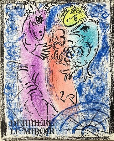 Illustrated Book Chagall - Derrière le miroir 132