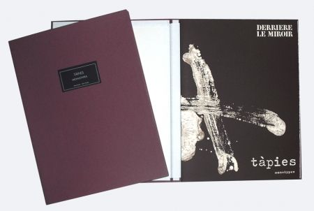 Illustrated Book Tàpies - Derrière le miroir 210