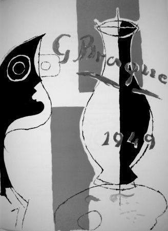 Lithograph Braque - Derrière le Miroir n.135/136