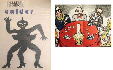 Lithograph Calder - Derrière le miroir N°212. Alexander CALDER.