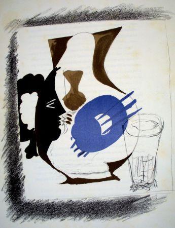 Lithograph Braque - Derrière le Miroir n.48/49