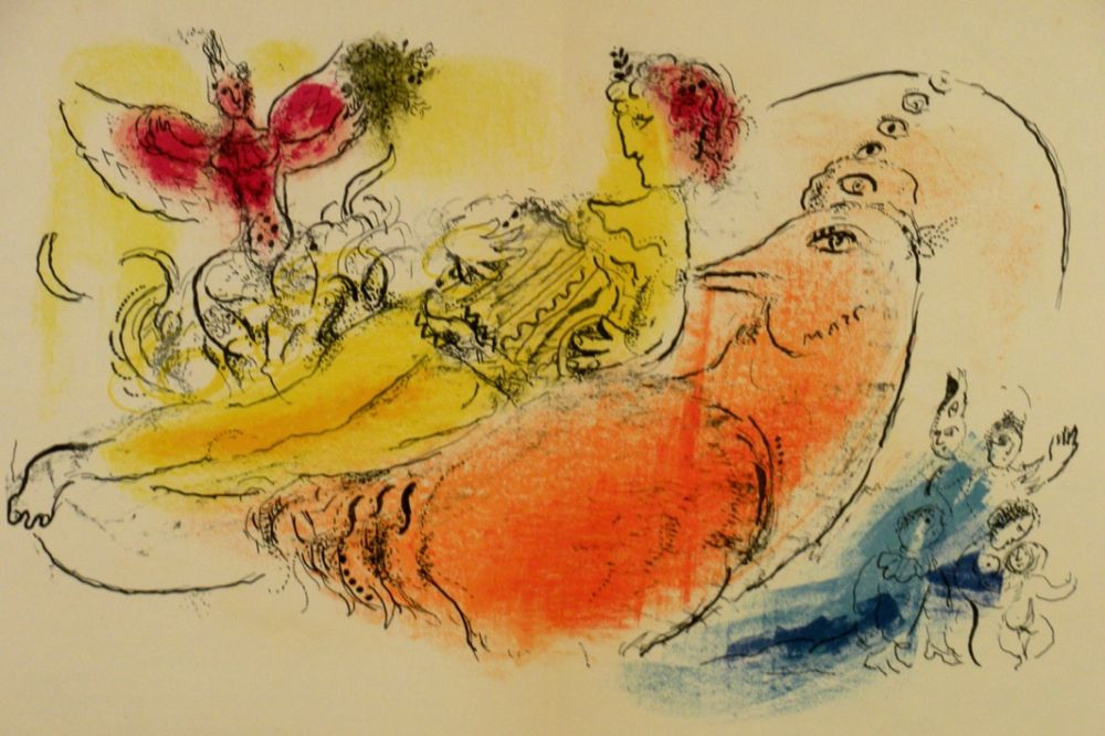 Illustrated Book Chagall - Derrière le Miroir n.99/100