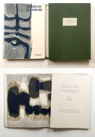 Illustrated Book Ubac - Derrière le Miroir n° 130. UBAC, PIERRES TAILLÉES (Nov. 1961). TIRAGE DE LUXE SIGNÉ.