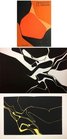 Lithograph Palazuelo - Derrière le Miroir n° 137 . PALAZUELO . Avril 1963.