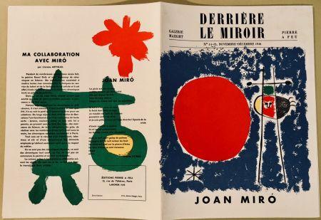Illustrated Book Miró - Derrière Le Miroir N° 14-15