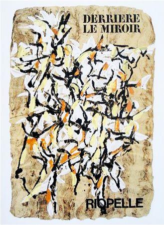 Illustrated Book Riopelle - Derrière le Miroir n° 160. RIOPELLE. 9 LITHOGRAPHIES ORIGINALES. juin 1966.
