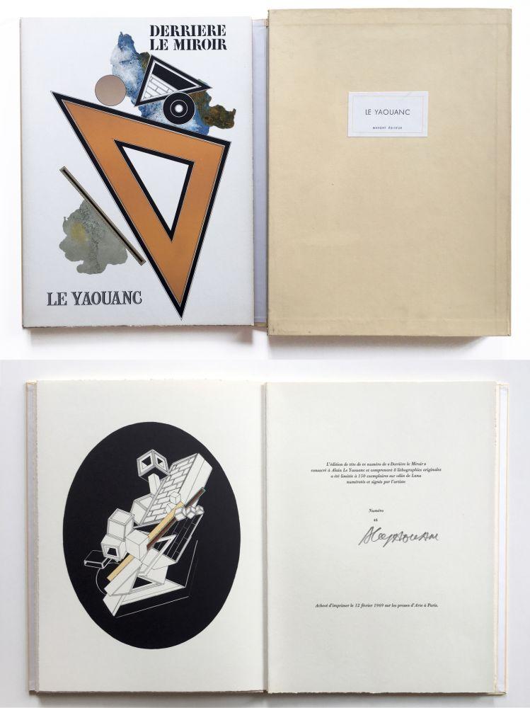 Illustrated Book Le Yaouanc - Derrière le miroir, n° 176. Le Yaouanc. 1969. TIRAGE DE LUXE SIGNÉ.