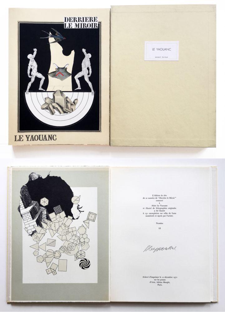 Illustrated Book Le Yaouanc - Derrière le miroir, n° 189. Le Yaouanc. 1970. TIRAGE DE LUXE SIGNÉ.