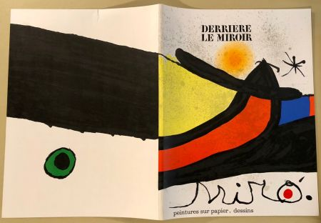 Illustrated Book Miró - Derrière Le Miroir  N° 193- 194 Novembre 1971- Maeght Editeur