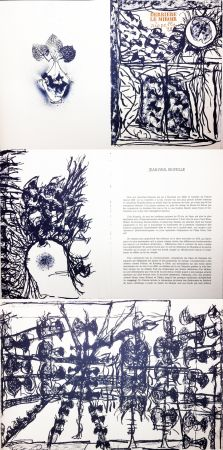 Illustrated Book Riopelle - Derrière le Miroir n° 232. 9 LITHOGRAPHIES ORIGINALES (1979).