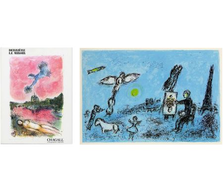 Illustrated Book Chagall - Derrière Le Miroir n° 246 - CHAGALL. Lithographies originales. Mai 1981.