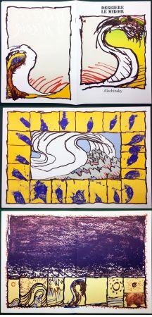 Illustrated Book Alechinsky - Derrière le Miroir n° 247. ALECHINSKY. 6 ESTAMPES ORIGINALES. 1981