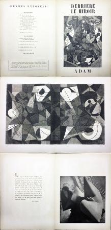 Illustrated Book Adam - Derrière le Miroir n° 24. ADAM - Décembre 1949. 1ere édition.
