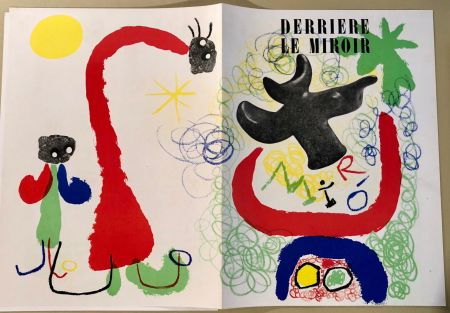 Illustrated Book Miró - Derrière Le Miroir  N° 29-30, Mai 1950 - Maeght Editeur