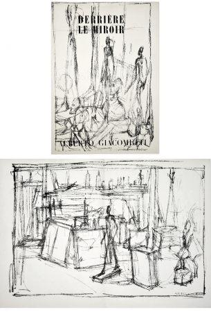 Illustrated Book Giacometti - Derrière le Miroir n° 39-40 . GIACOMETTI. Juin 1951.