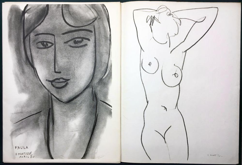 Illustrated Book Matisse - Derrière le Miroir n° 46-47. MATISSE. Mai 1952. 1ère Édition.