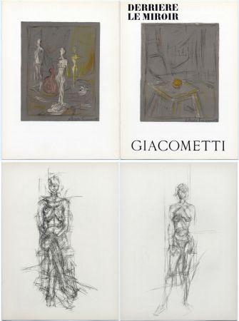 Illustrated Book Giacometti - Derrière le Miroir n° 65 . GIACOMETTI . Mai 1954.