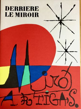 Illustrated Book Miró - Derrière Le Miroir  N° 87-88-89 - Maeght Editeur