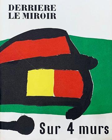 Illustrated Book Miró - Derrière le Miroir, No 107-108-109 : Sur 4 Murs