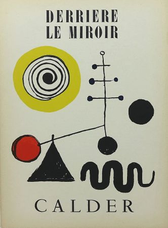 Illustrated Book Calder - Derrière le Miroir no 31 juillet 1950