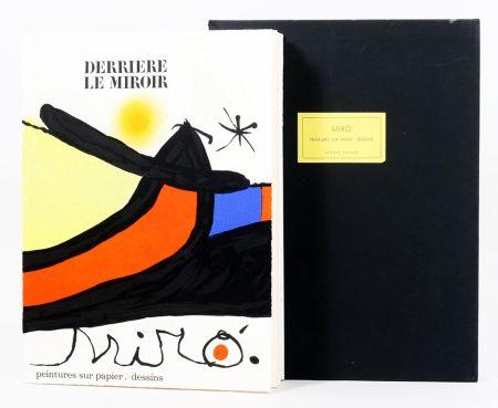 Illustrated Book Miró - Derriére le Miroir 193/194. Peintures Sur Papier, Dessins